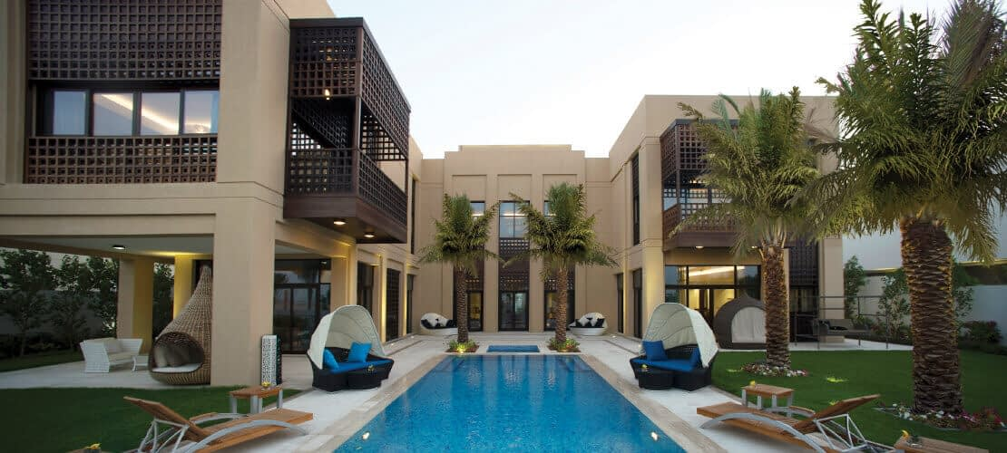 District One 8 Bedroom Modern Arabic Style Mansions